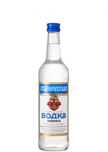водка старорусская ссср брянскспиртпром