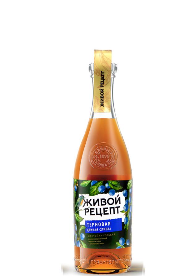 Живой Рецепт Терновая (дикая слива)
