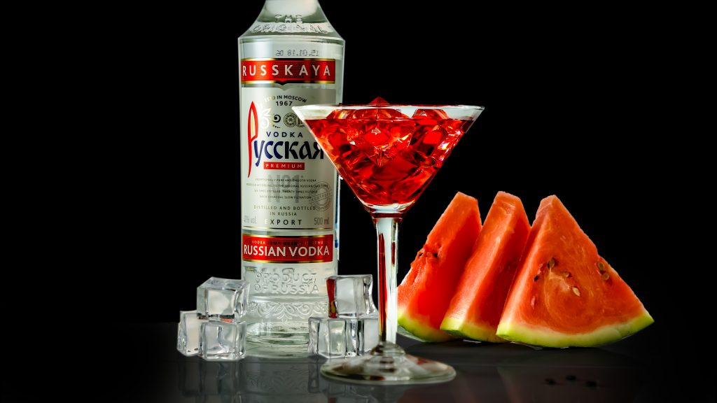 арбузная настойка ликер на водке русская
