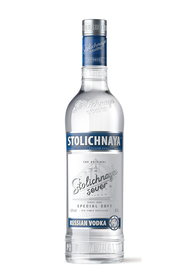 водка Stolichnaya Sever Столичная Север Брянскспиртпром