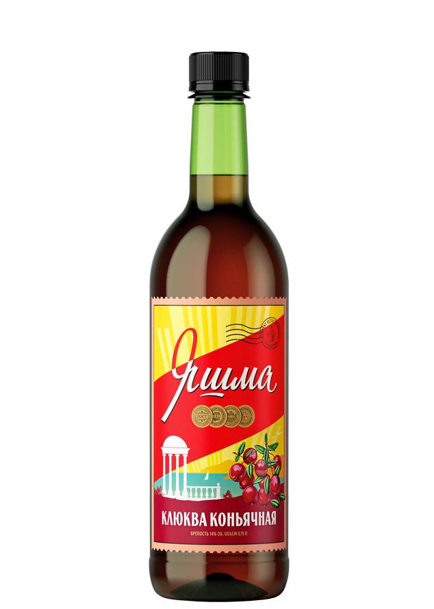 Ассортимент Яшма вино Клюква коньячная