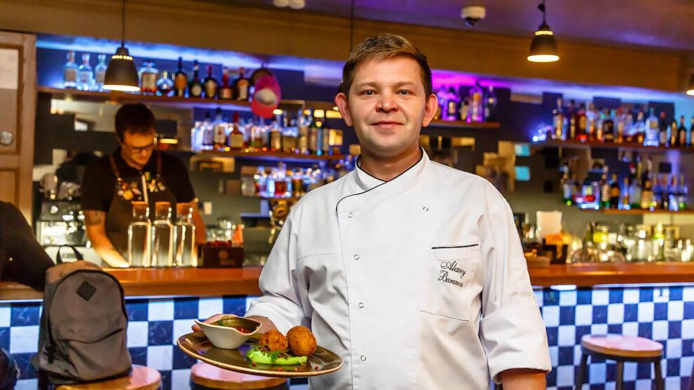 Алексей Баранов шеф-повар