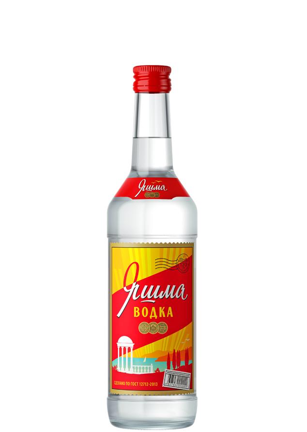 Ассортимент водка Яшма новая