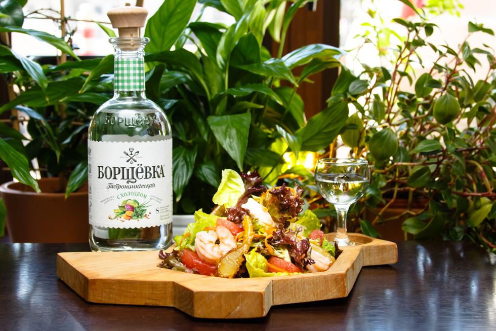Борщевка с холодком Брянск салат с карамелизованной грушей