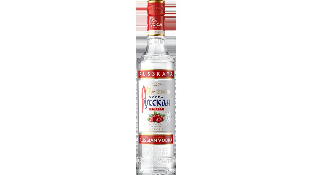 Слайдер Клюква бутылка