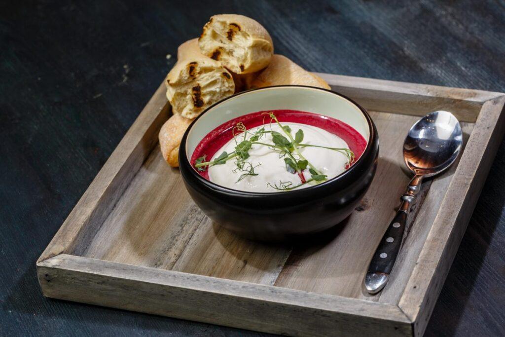 Крем суп из свеклы