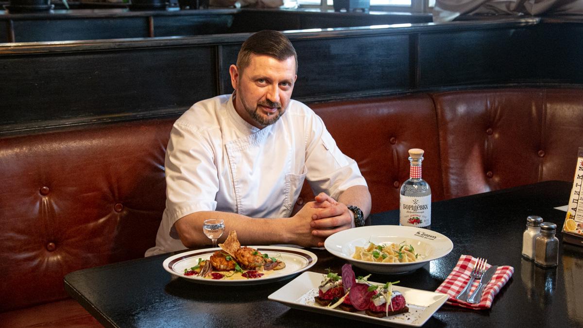 Илья Кириллов — бренд-шеф ресторана «Иван Дурдинъ»