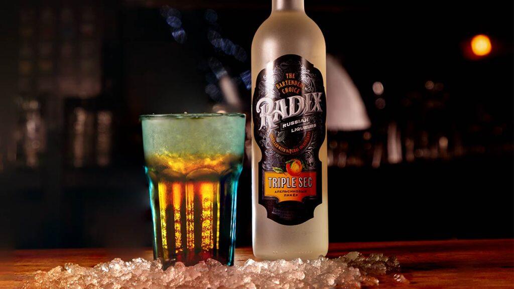 Радикс Radix Брянскспиртпром апельсиновый ликер для коктейлей