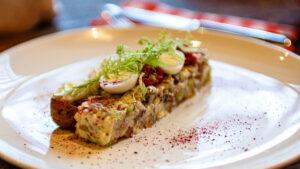 Рецепт тартара из селедки
