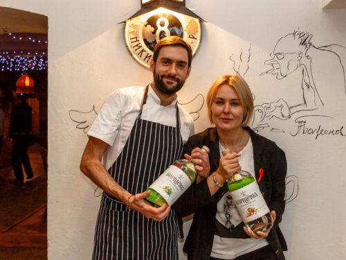 Ресторан ДомЖур бренд-шеф Алексей Егоренко и директор Александра Устименко