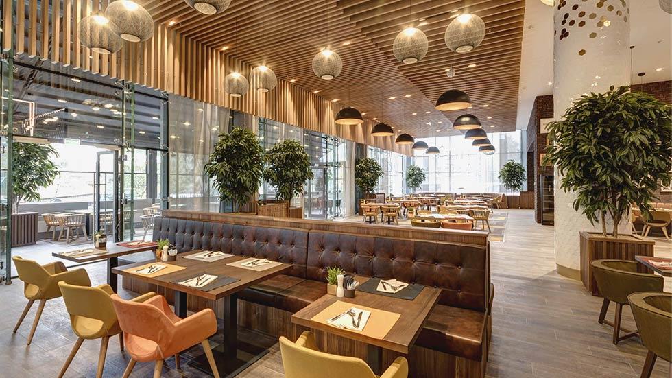 Ресторан FireLake на Олимпийском
