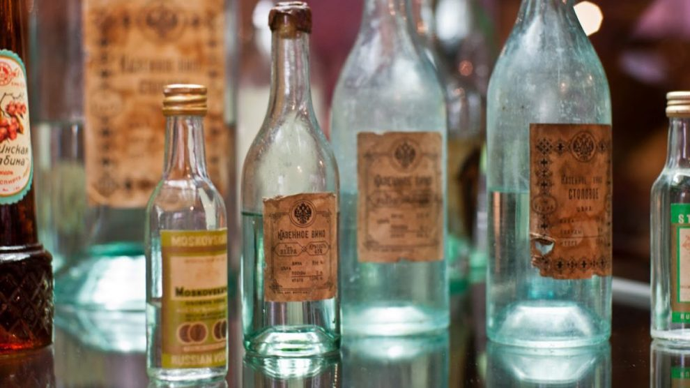 Старая московская водка 31 января