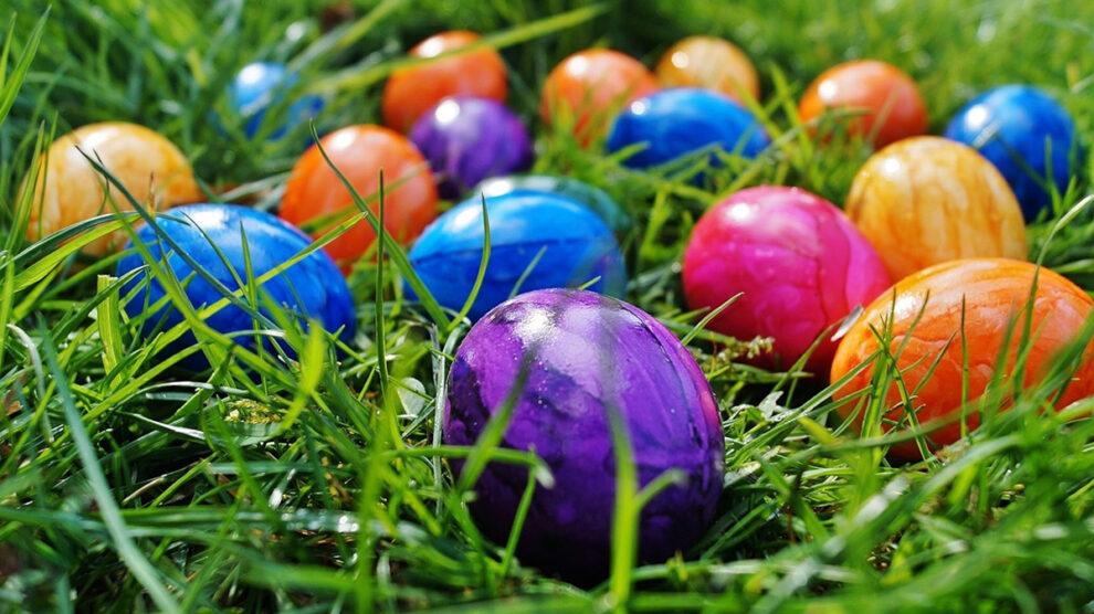 Чем красить яйца к пасхе натуральные красители