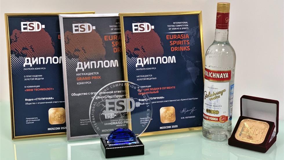 Столичная победитель ESD