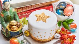 пасхальный кулич от китайского шеф-повара ресторана