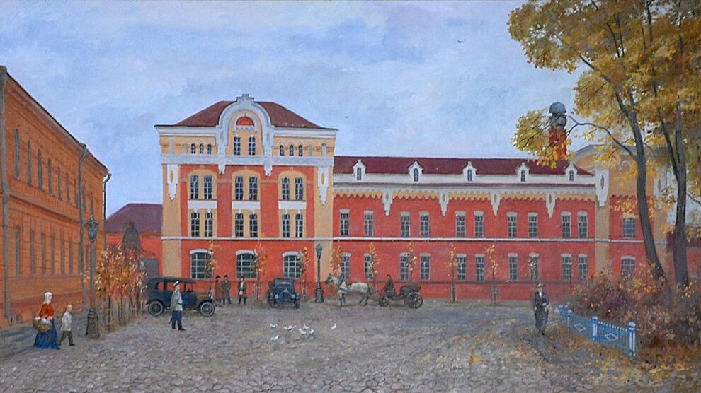 БСП здание завода Брянскспиртпром