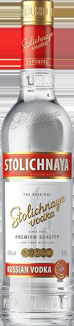 Прзрачная бутылка Столичной3