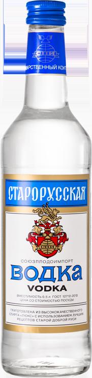 Водка старорусская