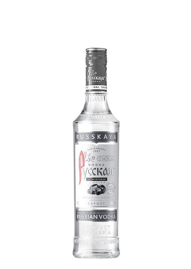 Водка русская шунгитовая очистка