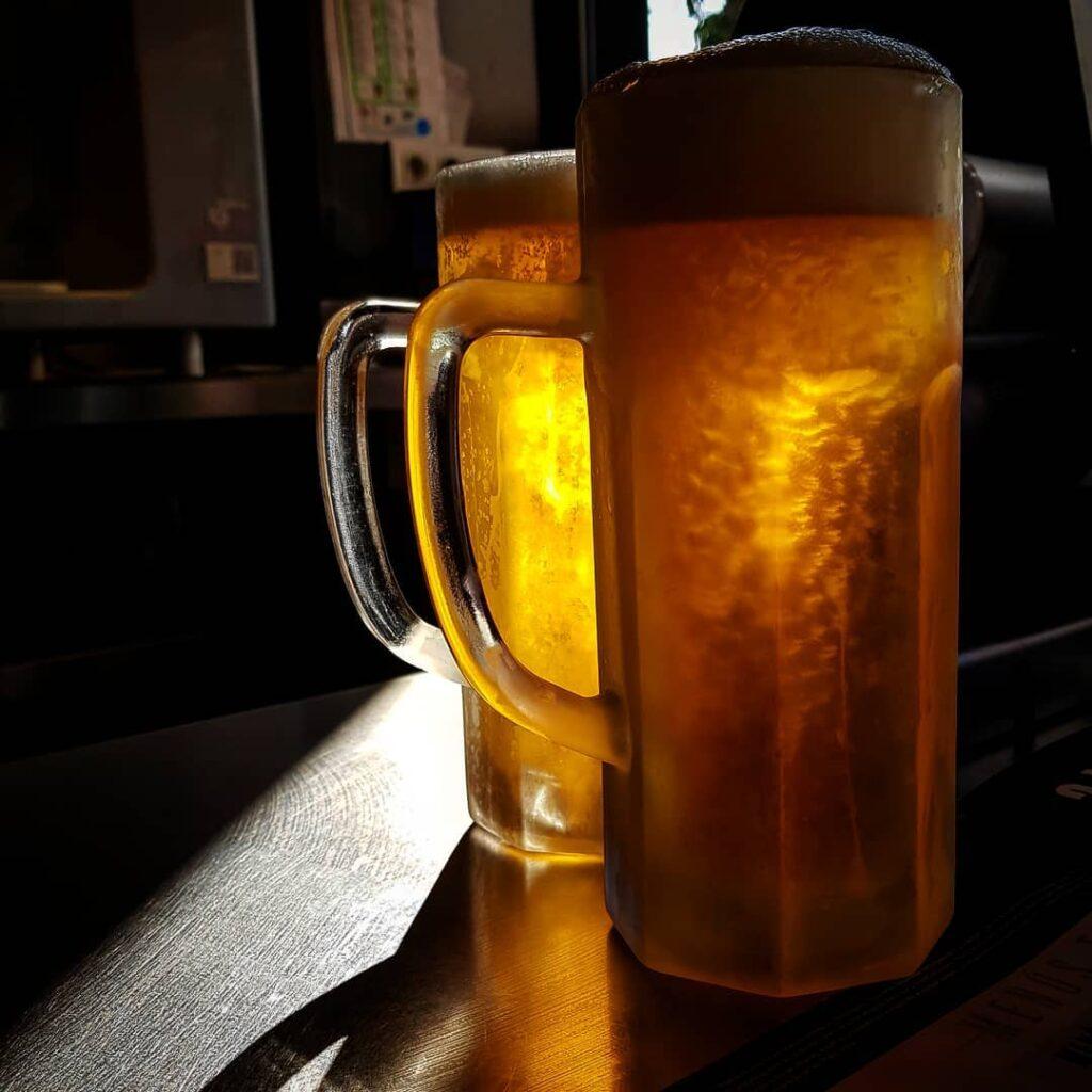 Холодное пиво Яшма
