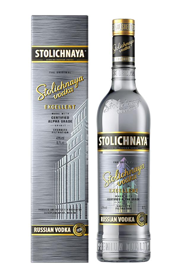 Stolichnaya Excellent 700 мл + ПУ