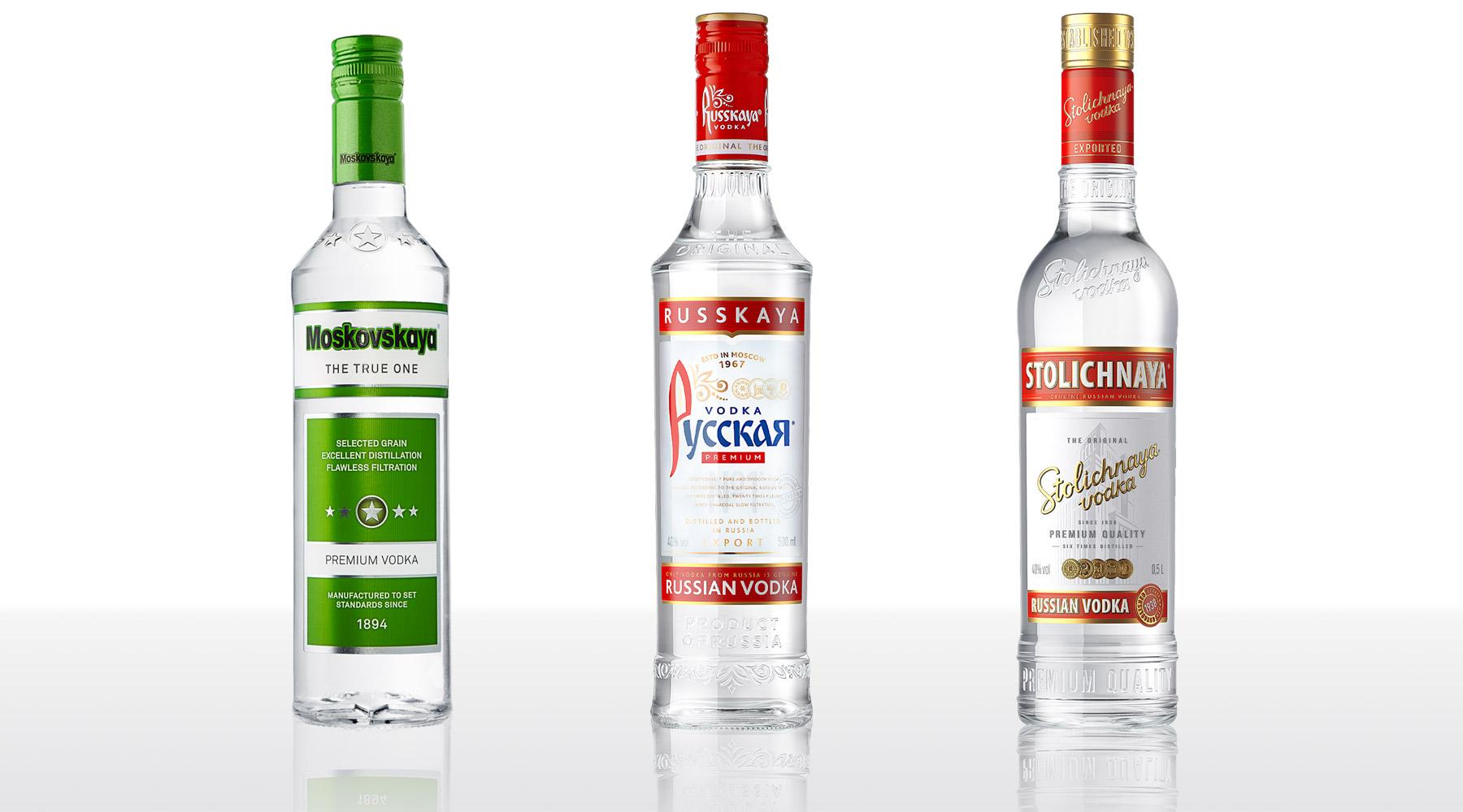 Три бутылки