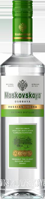 MOSKOVSKAYA NEW 500 ml прозрачная