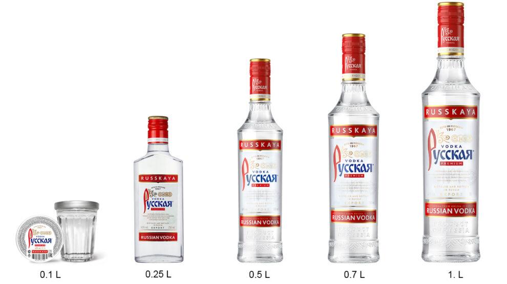 Ассортимент линейка Русская