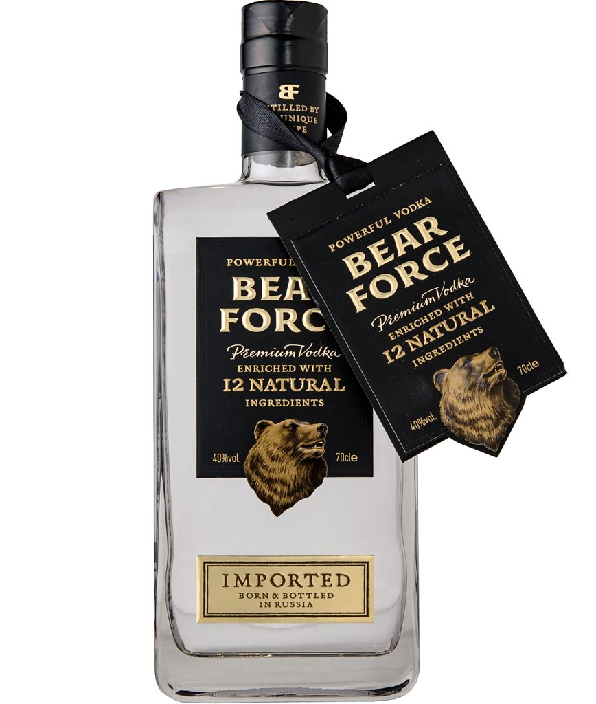 "Водка ""Bear Force"" БрянскСпиртПром"
