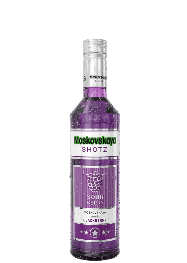 "Ликер  ""Moskovskaya SHOTZ. Sour Berry"""
